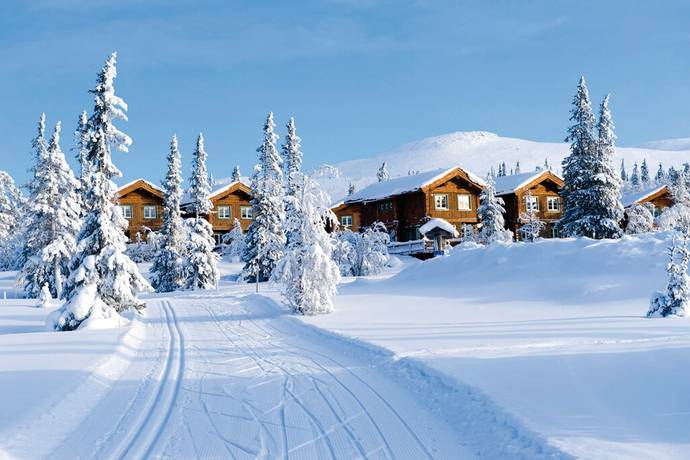 Bild: 4 rum bostadsrätt på Skidcampvägen 2B, Härjedalens kommun Lofsdalen