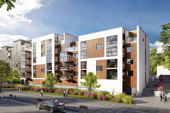 Bild: 2 rum bostadsrätt på Kungsängen Kvarter C, Jönköpings kommun Kungsängen