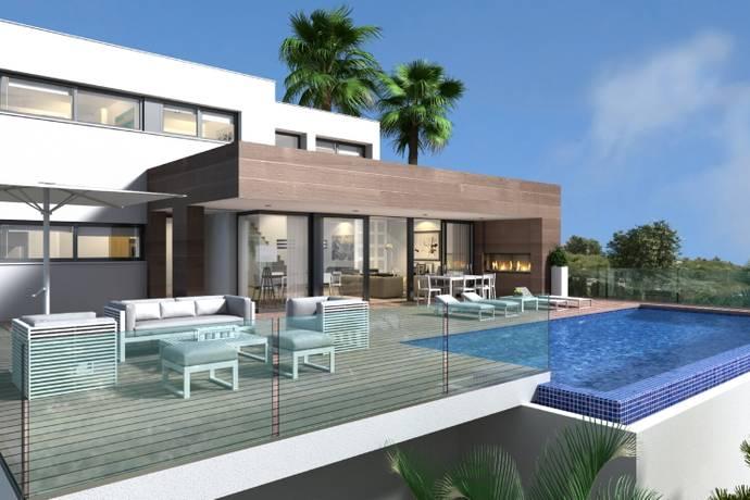 Bild: 562 m² villa på Modern villa i Cumbre del Sol, Spanien Cumbre del Sol
