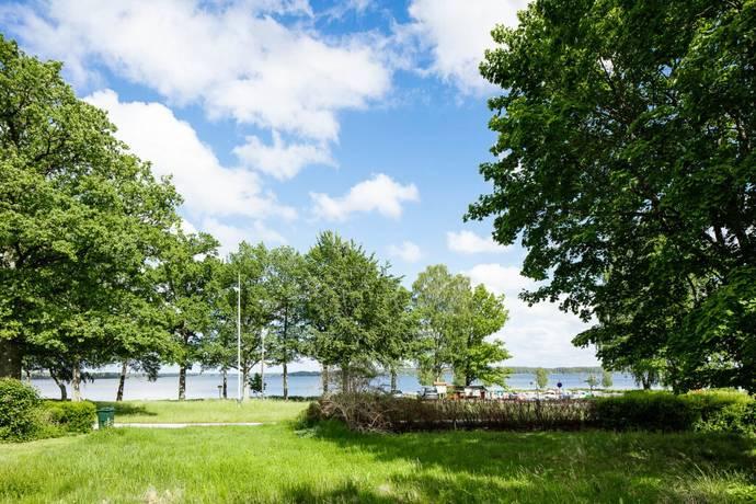 Bild: tomt på Sjövägen 6, Alvesta kommun Hulevik