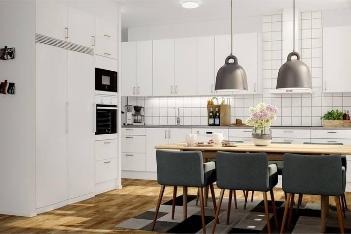 Bild: 5 rum bostadsrätt på Geodetgatan / parhus 1½-plan, Gävle kommun Hemlingby