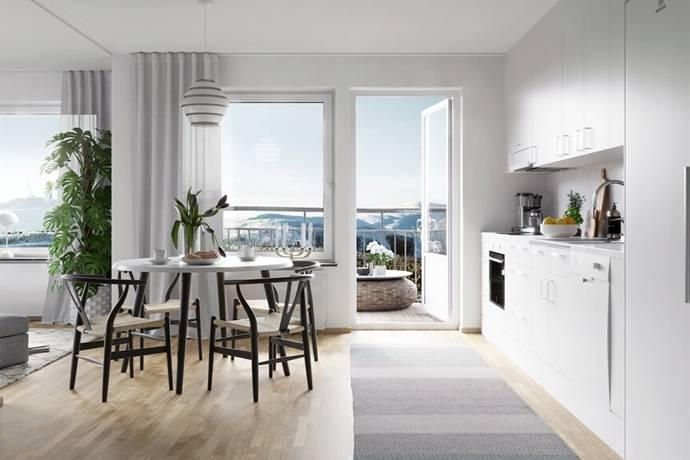 Bild: 1 rum bostadsrätt på Domherrevägen 12, Gällivare kommun