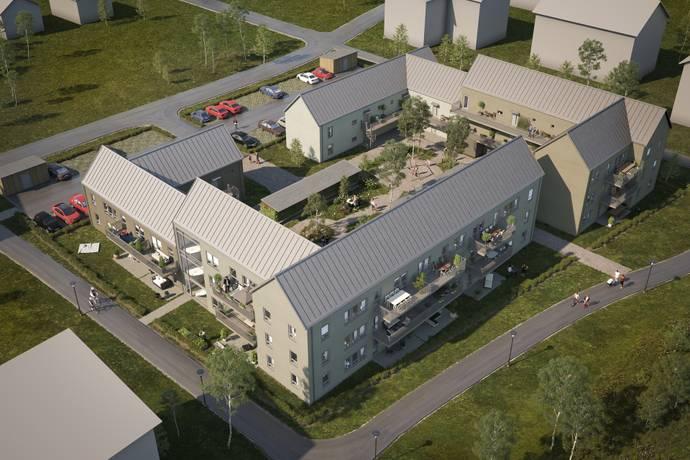 Bild från Staffanstorp - Vikhem - Attraktiva bostadsrätter med trädgård eller balkong intill Vendelparken på populära Vikhem!