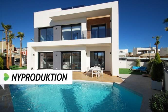 Bild: 4 rum villa på Moderna villor med pool och takterrass, Spanien Torrevieja Söder - Lomas de Cabo Roig