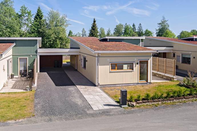 Bild: 4 rum radhus på Arne Fagers Gata 13, Nässjö kommun Handskeryd