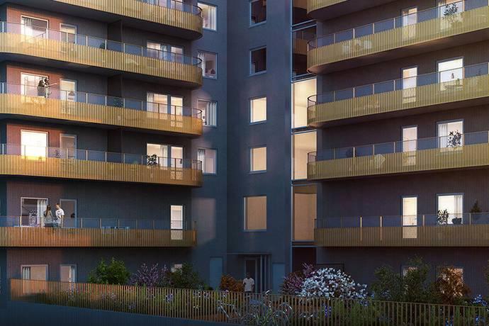Bild: 1 rum bostadsrätt på Brf Urbani 1:A, Göteborgs kommun Nya Hovås