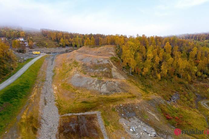 Bild: tomt på Klippkanten lott KK20, Storumans kommun Hemavan / Krokfors