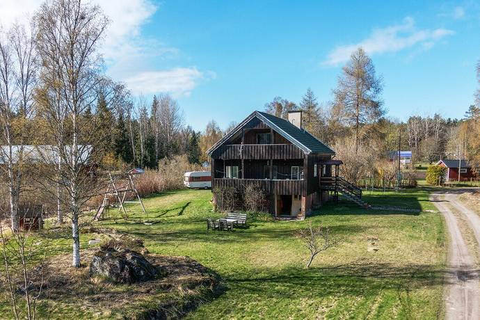 Bild: 4 rum villa på Skaten 241, Tierps kommun