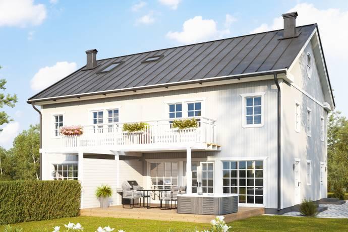 Bild: 6 rum radhus på Slottshöjden tomt 19, Sigtuna kommun Steninge Slottsby