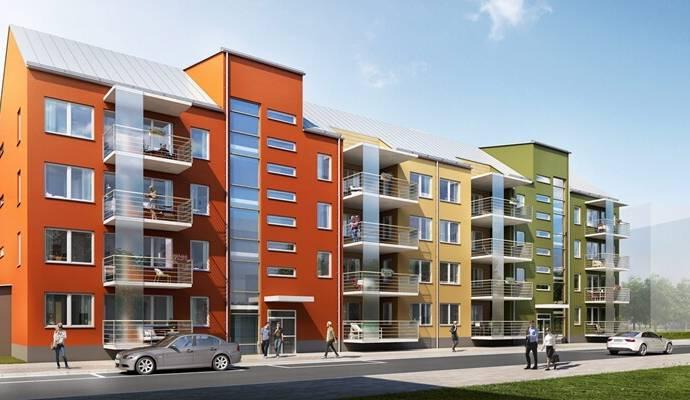Bild: 3 rum bostadsrätt på Åbroddgatan 5, Örebro kommun Sörbyängen