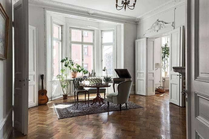 Bild: 6 rum bostadsrätt på Renstiernas gata 16, 2 tr, Stockholms kommun Södermalm Katarina