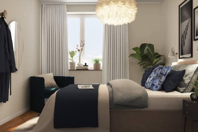 Bild: 2 rum bostadsrätt på Maskinistvägen 13, Järfälla kommun Bolinder Strand