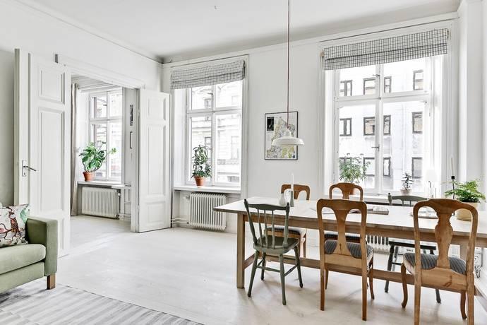 Bild: 3 rum bostadsrätt på Upplandsgatan 46, Stockholms kommun Vasastan - Odenplan