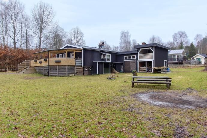 Bild: 4 rum villa på Södra Klampevägen 2, Borås kommun Bosnäs