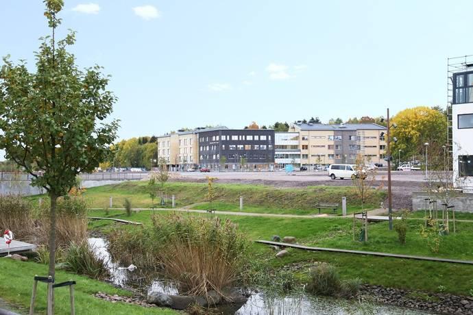 Bild: tomt på Initiativet 9, Linköpings kommun