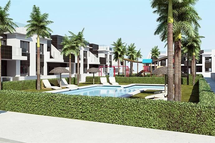 Bild: 3 rum bostadsrätt på Lamar Resort, Bungalow 3 rum m takterrass, Spanien Costa Blanca