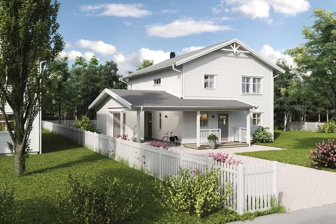 Bild: 5 rum villa på Nybodavägen - Villa Ekbacken - tomt 22, Sigtuna kommun Steningehöjden