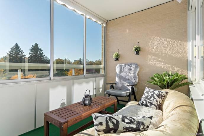 Bild: 2 rum bostadsrätt på Ekedalsvägen 11A. 3 tr, Järfälla kommun Jakobsberg