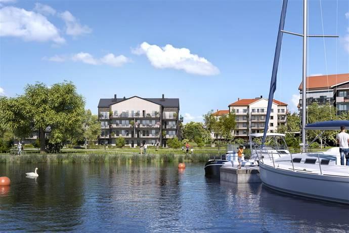 Bild: 2 rum bostadsrätt på Alörsgatan 2, Lgh A1003, Östhammars kommun Klackskär