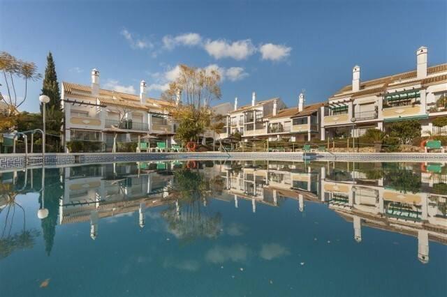 Bild: 4 rum bostadsrätt på Las Chapas, Marbella, Costa del Sol, Spanien Las Chapas, Marbella, Costa del Sol