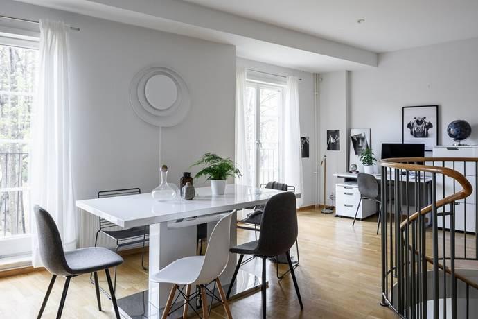 Bild: 3 rum bostadsrätt på Kungsholms Strand 101, etage vån 1+2, Stockholms kommun Kungsholmen