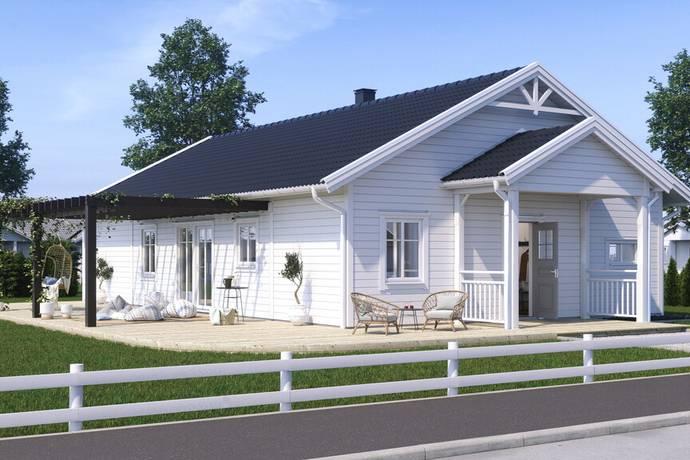 Bild: 6 rum villa på Värabjärsvägen 23, Varbergs kommun Tvååker
