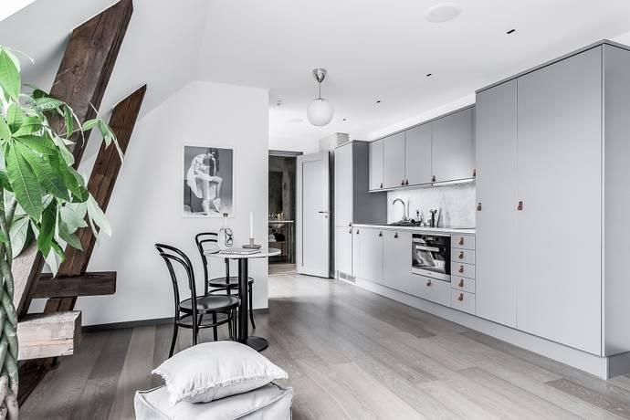 Bild: 1 rum bostadsrätt på Gluntens Gränd 1, Uppsala kommun Främre Luthagen