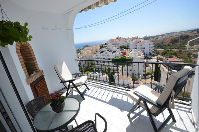 Bild: 3 rum bostadsrätt på Riviera del Sol-välskött urbanisation med fantastisk havsutsikt, Spanien Mijas Costa