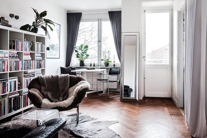 Bild: 1 rum bostadsrätt på Rindögatan 10, 4 tr, Stockholms kommun Östermalm Gärdet