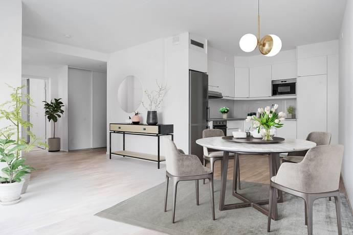Bild: 2 rum bostadsrätt på Nina Einhorns gata 10, 4tr, Stockholms kommun Hagastaden