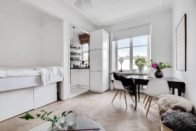 Bild: 1,5 rum bostadsrätt på Norrbackagatan 14, Stockholms kommun Vasastan Birkastan