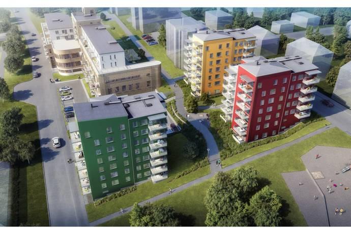 Bild: 4 rum bostadsrätt på Skogsgatan, Södertälje kommun