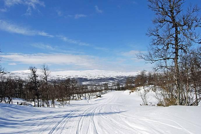 Bild: tomt på Vålenvägen, Härjedalens kommun Fjällnäs - Funäsdalen