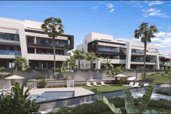 Bild: 4 rum bostadsrätt på Costa del Sol, New Golden Mile, Spanien