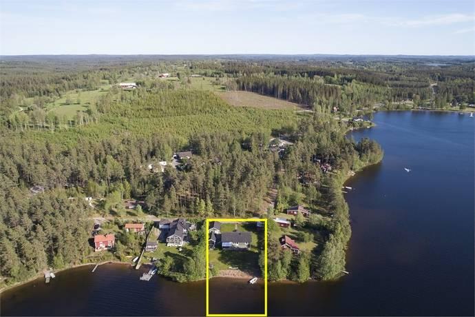 Bild: 5 rum villa på Segelvägen 33, Eksjö kommun Hult