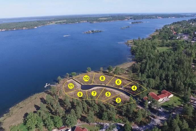 Bild: tomt på Soluddsvägen 9, Västerviks kommun Västervik