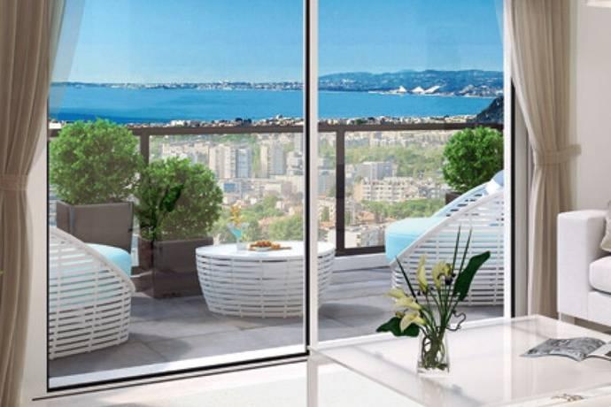 Bild: 3 rum bostadsrätt på Nice, Fabron, Frankrike Franska Rivieran