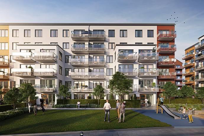 Bild: 4 rum bostadsrätt på Hållövägen 7, Stockholms kommun Blåsut