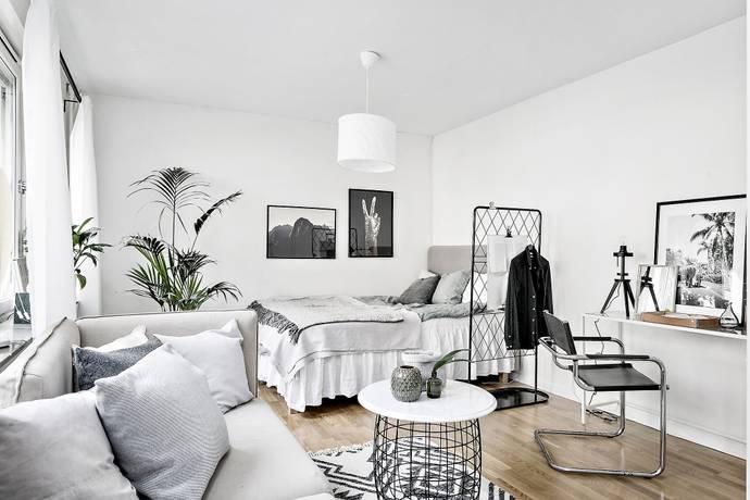 Bild: 1 rum bostadsrätt på Tideliusgatan 65, Stockholms kommun Katarina/Sofia