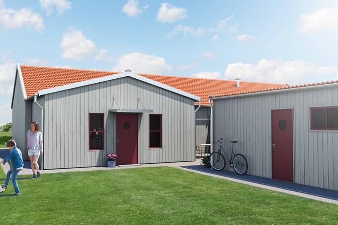 Bild: 3 rum radhus på Vitsippsgatan 49, Mullsjö kommun Havstenshult- Mullsjö