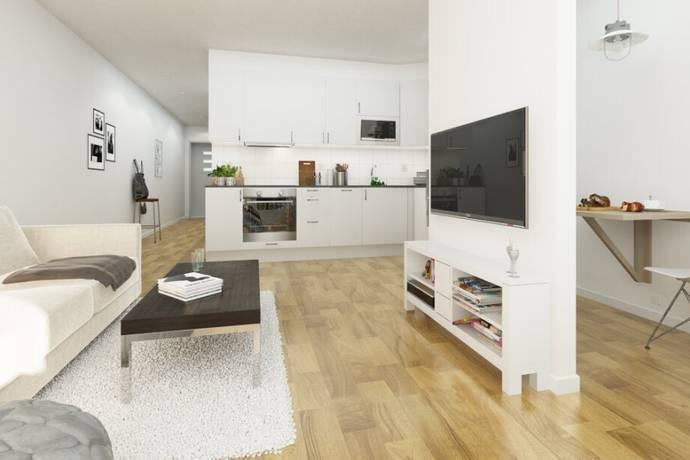 Bild: 1 rum bostadsrätt på Blomsterkungsvägen 116, 2 tr, Stockholms kommun Hässelby Backlura