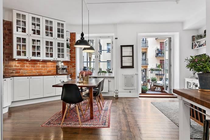 Bild: 3,5 rum bostadsrätt på Heleneborgsgatan 48, Stockholms kommun Hornstull