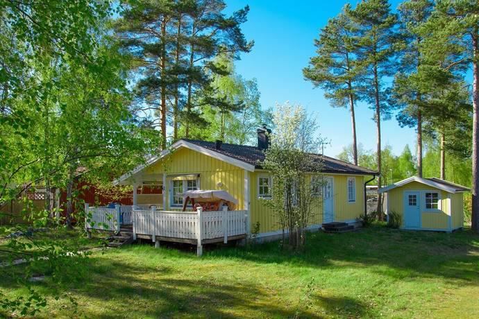 Bild: 4 rum villa på Vattenvägen 6, Mönsterås kommun Timmernabben