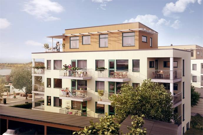 Bild: 4 rum bostadsrätt på Brf Skördaren D121, Vårgårda kommun Algutstorp