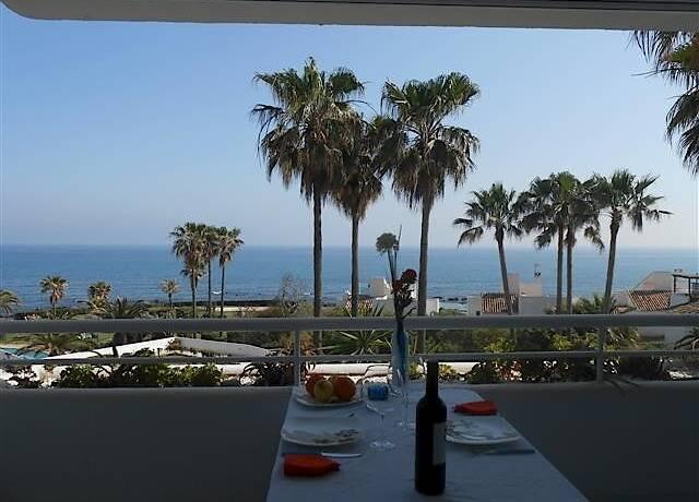 Bild: 2 rum bostadsrätt på MIRAFLORES- frontline lägenhet, Spanien Mijas Costa