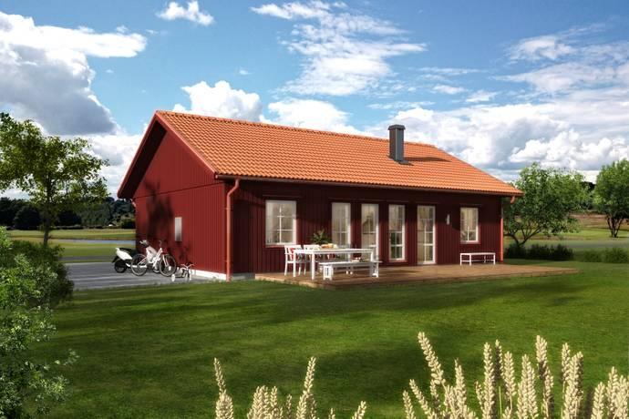 Bild: 3 rum villa på Enens Väg 15, Uppsala kommun Burvik