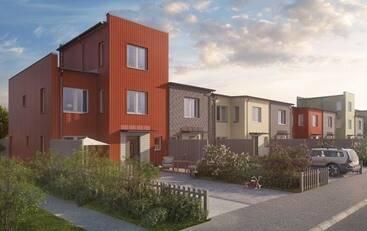 Bild: 6 rum radhus på Bäcklösavägen 24, Uppsala kommun Bäcklösa, Uppsala
