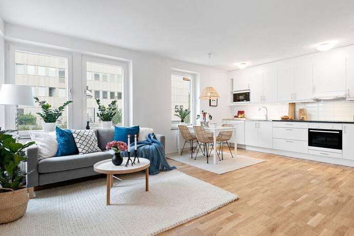 Bild: 2 rum bostadsrätt på Östersundsgatan 8, Stockholms kommun Råcksta