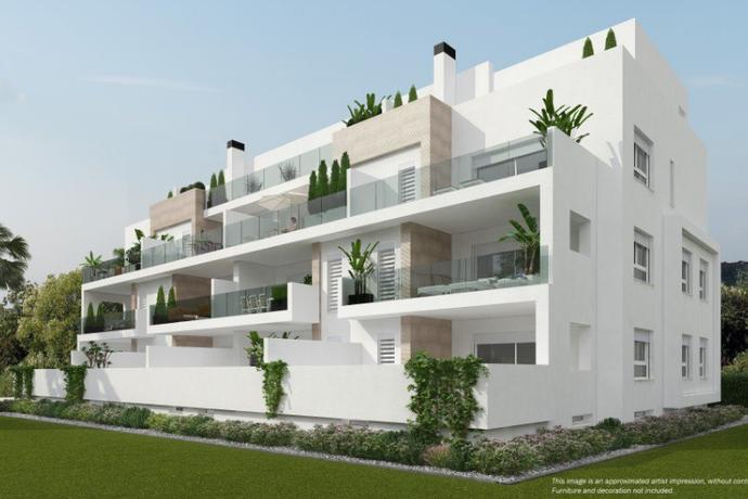 Bild: 3 rum bostadsrätt på Nybyggd markplan med stor terrass!, Spanien Villamartin | Torrevieja