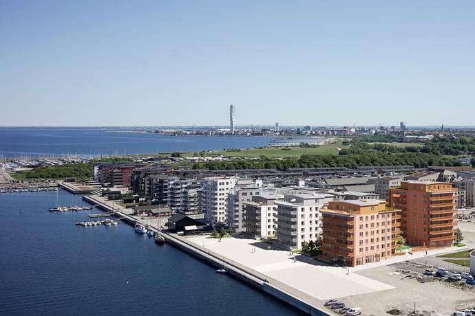 Bild från Limhamns sjöstad - Brf Havsbrynet